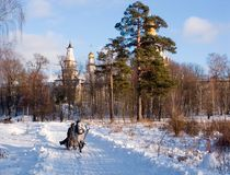 Russian winter Stock Images