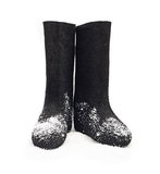 Russian winter felt boot Royalty Free Stock Images