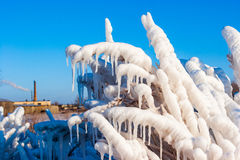 Russian winter Stock Photography