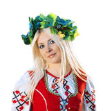 RUSSIAN WOMAN stock photography