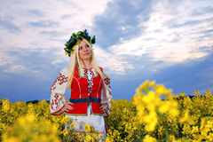 RUSSIAN WOMAN Stock Images