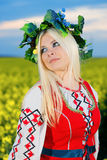 RUSSIAN WOMAN Stock Photo