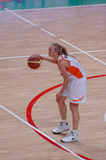 Russian women basketball Royalty Free Stock Photo