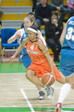 Russian women basketball Royalty Free Stock Images