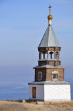 Russian wooden church Stock Photos