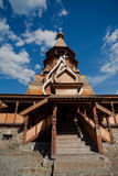 Russian wooden church Royalty Free Stock Images