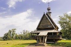 Russian Wooden Church. Stock Photos