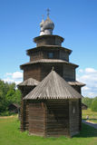 Russian wooden church Royalty Free Stock Photo