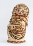 Russian wooden doll - Matryoshka Royalty Free Stock Photos