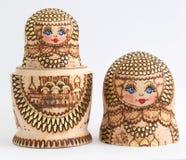 Russian wooden doll - Matryoshka Royalty Free Stock Photography