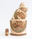 Russian wooden doll - Matryoshka Stock Image