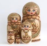 Russian wooden doll - Matryoshka Royalty Free Stock Image