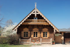Russian Wooden House Royalty Free Stock Photos