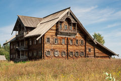 Russian wooden house Stock Photo