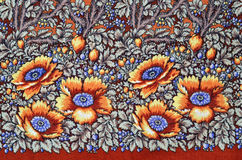 Russian wool fabric Royalty Free Stock Photos