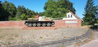 Russian WWII Tank stock image