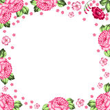 Russian Zhostovo floral background Royalty Free Stock Image