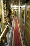 Russianrailway carriage interior Stock Photography