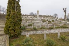Russians heroes graveyard in Alba Iulia Stock Image