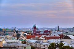 Russie moscou Vue panoramique de Moscou photographie stock