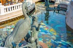 Russie Ville Moscou 22 09 2018 le Fox et le monument de Cranen, sculpture photo stock