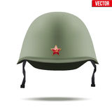 Russion Military classic helmet vector Stock Photo