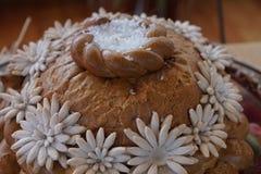 Russisch brood met zout royalty-vrije stock foto
