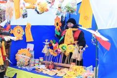 Russisch Carnaval (Maslenitsa) 2011, Moskou Royalty-vrije Stock Foto