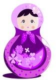 Russisch Doll Matrioshka Royalty-vrije Stock Fotografie