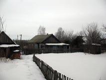Russisch dorp Stock Foto's
