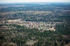 Russisch dorp Stock Foto