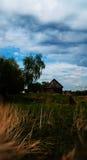Russisch dorp Stock Afbeelding