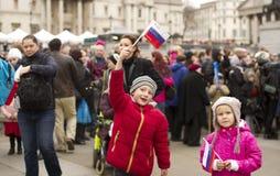 2014 Russisch Festival Royalty-vrije Stock Foto's