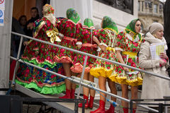 2014 Russisch Festival Stock Foto