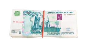 Russisch geld royalty-vrije stock afbeeldingen