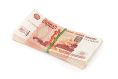 Russisch geld Stock Fotografie