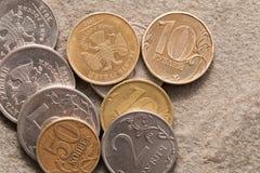 Russisch geld. Stock Afbeeldingen