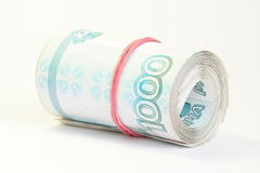 Russisch geld Stock Afbeeldingen