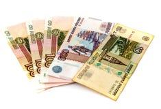 Russisch geld Royalty-vrije Stock Foto's