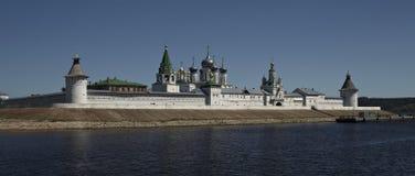 Russisch klooster Makariy Royalty-vrije Stock Fotografie