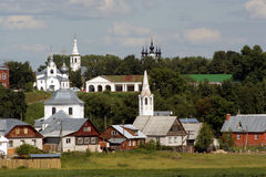 Russisch landschap royalty-vrije stock afbeelding