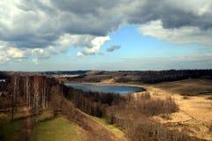 Russisch landschap royalty-vrije stock fotografie