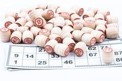 Russisch Lotto Stock Afbeelding
