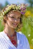 Russisch meisje Stock Afbeelding