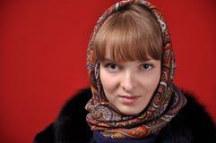 Russisch Meisje Stock Foto's
