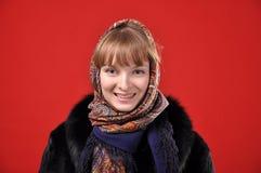 Russisch Meisje Royalty-vrije Stock Foto