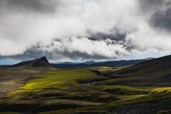 Russisch mooi IJsland royalty-vrije stock afbeeldingen