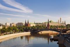 Russisch Moskou het Kremlin Stock Fotografie