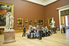 Russisch Museum in St. Petersburg Stock Afbeeldingen