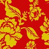 Russisch nationaal patroon Hohloma Traditioneel volksornament Royalty-vrije Stock Afbeeldingen